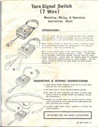 need some help old napa turn signals wiring diagram the h a m b 4 Wire Flasher Wiring Diagram napa turn signal switch01 001 jpg 4 Wire Thermostat Wiring Diagram