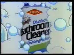 dow bathroom cleaner commercial with scrubbing bubbles