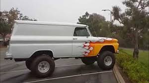 1965 Chevrolet C10 Helms Bakery Delivery panel truck - YouTube