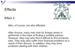 Abstract Example For Research Paper On The Effects Of Divorce On Childre