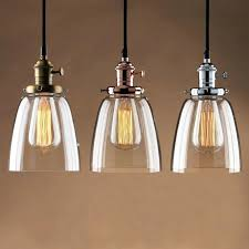 hanging lamp shade fittings kitchen light fittings adjule vintage industrial pendant lamp cafe glass brass chrome