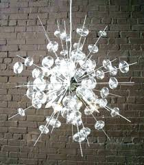 glass chandelier modern blown glow lighting chandeliers great ba