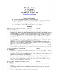 Resume Templates For Nursing Jobs Saneme