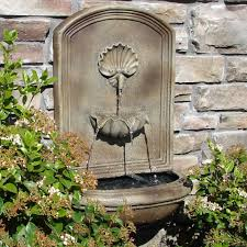 interesting ideas wall fountains outdoor remodel water and features floine stone napoli fountain clearance uk