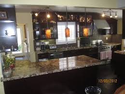 Dark Maple Kitchen Cabinets Light Kitchen Cabinets With Dark Granite Countertops Quicuacom