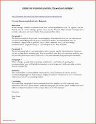 48 Letter Re Mendation For Coworker Free Resume Template Letter
