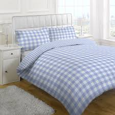 Blue Gingham Duvet Cover - Sweetgalas & Linens Limited Large Tonal Gingham Duvet Cover Set Daily Adamdwight.com