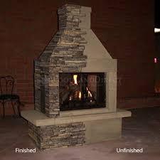 mirage stone 3 sided wood burning outdoor fireplace woodlanddirect com outdoor fireplaces fireplace units wood