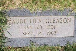 Maude Lila Gilpin Gleason (1901-1963) - Find A Grave Memorial