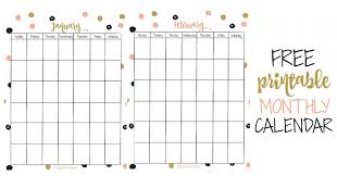 monthly printable calendar free 2019 printable calendar keeping life sane