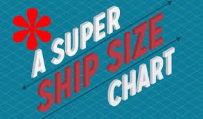 Infographic Super Ship Size Chart Comparison Maritime Cyprus