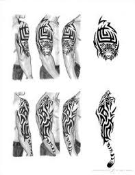 Tiger Sleeve Tattoo By Adams Twins Umění Tatuagem Masculina