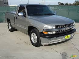 2002 Light Pewter Metallic Chevrolet Silverado 1500 LS Regular Cab ...