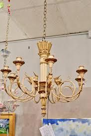 italian floine arrow chandelier