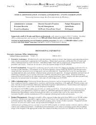 Cover Letter Accomplishments Examples Resume Accomplishments On