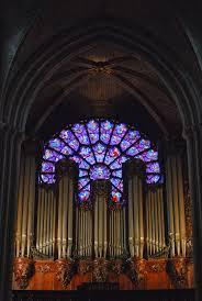 the organ of notre dame de paris cathacdrale de notre dame