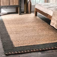 artistic jute rug 5x8 in nuloom alexa eco natural fiber braided reversible chevron