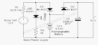 solar cell circuit page 3 power supply circuits next gr Solar Panel Circuit Diagram Schematic solar powered animal scarer solar panel circuit diagram schematic pdf