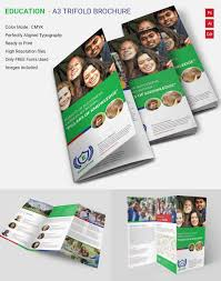tri fold school brochure template tri fold school brochure template the best templates collection