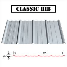 classic rib metal roofing panel purchase styles classic rib metal roofing46