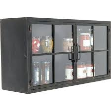 design gold coast horizontal wall cabinet kitchen with glass door