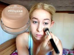 essence soft touch mousse foundation and demo