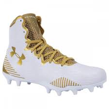 Lacrosse Footwear Size Chart Under Armour Highlight Molded Womens Lacrosse Cleats White Gold