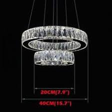 Round <b>LED Chandelier</b> Lights <b>Lighting Modern Acrylic</b> Lamps ...