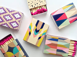 Decorative Match Boxes Set of 100 decorative matchboxes Etsy Patterns and Match boxes 2