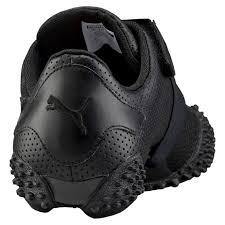puma women shoes puma mostro perf leather shoes women black sneakers g63d8689