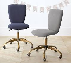 cute childs office chair. square upholstered desk chair brass base pottery barn kids cute childs office l