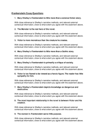 frankenstein essay questions a level by mcrossan teaching  frankenstein essay questions a level by mcrossan92 teaching resources tes