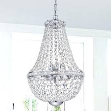 crystal and chrome chandelier 6 light crystal chrome chandelier nerisa chrome crystal flush mount chandelier