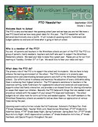 schools newsletter ideas fillable pto newsletter ideas edit online print download forms