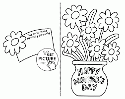 8c50e945f5163ca1a6e2ab135f94872c card with flowers for mothers day coloring page for kids, coloring on science fair project flowers food coloring