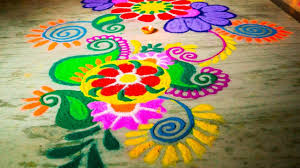 Flower Rangoli Designs For Corner 75 Simple And Easy Rangoli Designs Collection 2019 2020