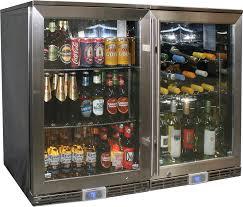 glass door beer refrigerator glass door wine cooler fridges dual climate underbench available glass door wine