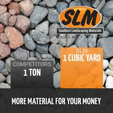 River Rock Coverage Chart Product Calculator Southern Landscaping Materials