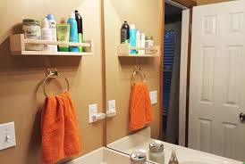 Hanging Bathroom Ikea Spice Rack Hack Toiletries Shelf