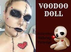 voodoo doll makeup creepy face painting practice twisty the clown makeup tutorial voodoo doll makeup tutorial original