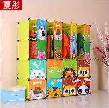 16 cubes Children s Cartoon Wardrobe Closet Storage Cabinet