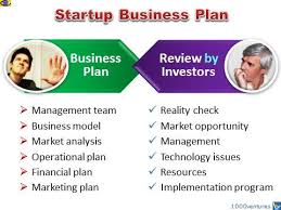 Startup Business Plan For New High Growth Firms Ventures