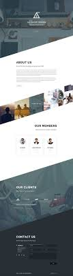 Angle Business Agency Web Template Design | Web template design, Web  design, Web layout design