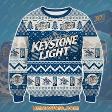 Keystone Light Sweatshirt Keystone Light Ksv4 3d Print Ugly Christmas Sweatshirt
