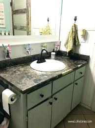 spray paint bathroom countertop fresh of painting a bathroom regarding i chalk painted my s lolly