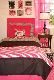 Dorm Bedding Decor Hot Pink Txl Zebra Dorm Room Bedding Set And Dorm Decor Decor 2