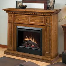 ca electric fireplace mantel package in oak dfp4743o