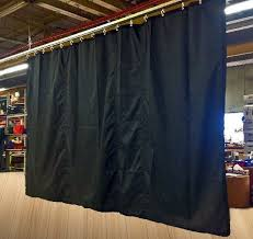 black fire flame ant stage curtain backdrop partition 10 h x 10