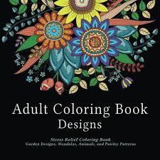 Small Picture Amazoncom Adult Coloring Book Designs Stress Relief Coloring
