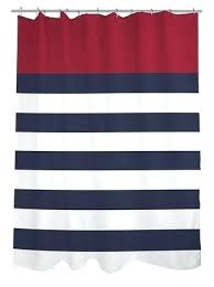 navy stripe shower curtain off one nautical stripes shower curtain red navy white navy stripe shower navy stripe shower curtain